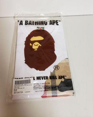 BAPE Check Side Big Ape Head Tee Medium for Sale in St. Peters, MO