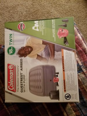Coleman Twin sized air mattress for Sale in Portland, OR