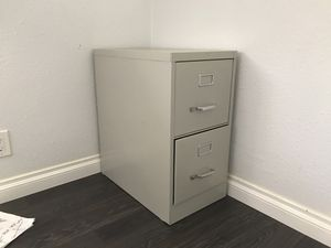Two drawer filing cabinet for Sale in Los Angeles, CA