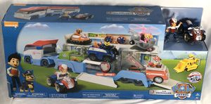Paw Patroller Ultimate Rescue Transporter w/ Ryder and ATV Vehicle Kids Toy Car. for Sale in Spring, TX