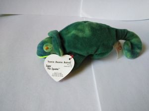 Rare error collector item teenie beanie Iggy and beanie Baby Rainbow for Sale in Jackson, NJ