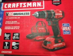 Craftsman 20 v brushless cordless hammer drill for Sale in Tallahassee, FL