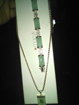 Sterling n jade for Sale in Browns Mills, NJ