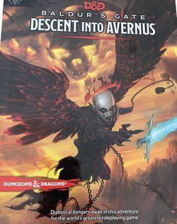 Dungeons & Dragons Baldur's Gate: Descent Into Avernus Book NEW for Sale in Beaverton,  OR