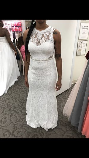 David's Bridal wedding dress, brand new, never used only tried on for Sale in Philadelphia, PA