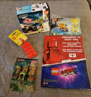 Lego Allotment of Promo sets and items not sold in stores 4 total SOLD TOGETHER ONLY read description for details for Sale in VLG WELLINGTN, FL