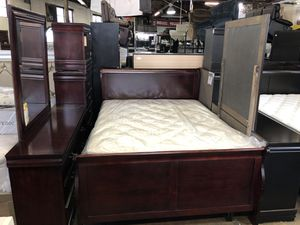 Full or queen bedroom set 2 different colors for Sale in Baltimore, MD
