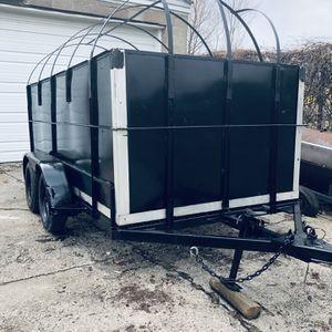 6x14 Heavy hauling trailer for Sale in Detroit, MI