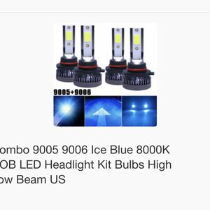 LED Lamps High And Low Beam for Sale in Pasadena, TX