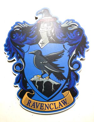 Harry Potter Gothic Ravenclaw Crest Wooden Wall Sign for Sale in Chicago, IL
