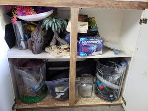 Aquarium supplies, cash only for Sale in Englewood, FL