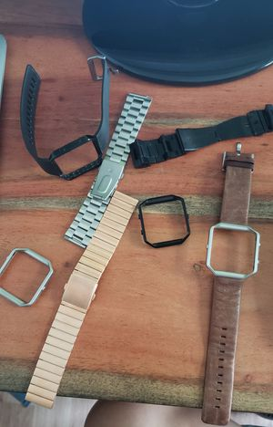 Fitbit Blaze bands and faces for Sale in Glendora, CA
