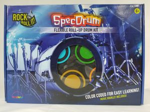 Mukikim SpecDrum Roll Up Drum Kit New for Sale in Marysville, WA