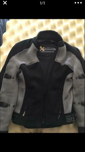 Non-Gender Size Medium motorcycle jacket. Xelement Advanced Gear. Black and Grey. Made of breathable polyester mesh. Very good condition. for Sale in IL, US