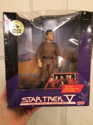 """Vintage 1989 Star Trek V The Final Frontier Mr. Spok Action 7.5"""" Figure for Sale in Atlanta, GA"""