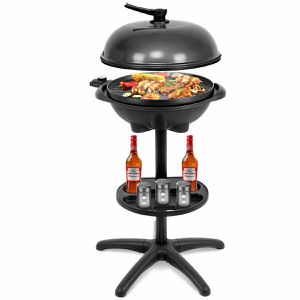 1350 W Outdoor Electric BBQ Grill with Removable Stand for Sale in Lake Elsinore, CA