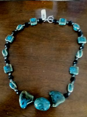 necklace pottery handmade for Sale for sale  Beverly, MA