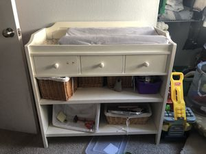 Crate and Barrel Changing Table for Sale in Long Beach, CA