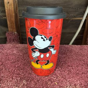 Mickey Mouse Ceramic Travel Mug for Sale in Sacramento, CA
