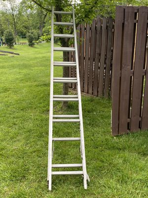 20 ft aluminum ladder for Sale in PA, US