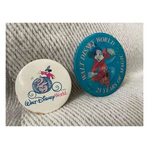2 Disney 25th anniversary pins 1996 for Sale in New Port Richey, FL