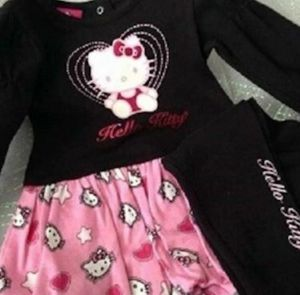 Hello Kitty Infant 2 Piece Top and Pants 3-6 Months for Sale in Winter Garden, FL