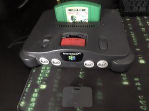 Nintendo 64 Console w/1 game (Read description) for Sale in Beaverton, OR