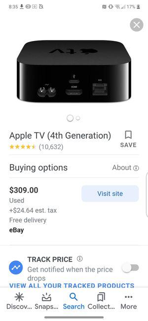 Apple TV Box 4th gen for Sale in Fresno, CA