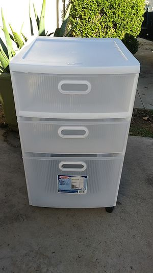 Rolling Plastic storage drawers for Sale in HUNTINGTN BCH, CA