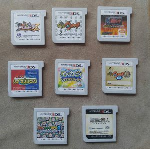 Eight Nintendo 3DS Games for Sale in San Francisco, CA