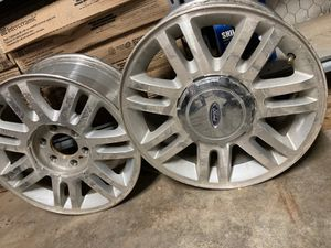 """2010 Ford 4x4 lariat rims 18"""" for Sale in Midland, TX"""