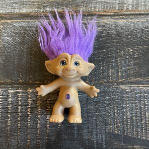 Vintage Ace Purple Gem Troll Doll for Sale in Las Vegas, NV