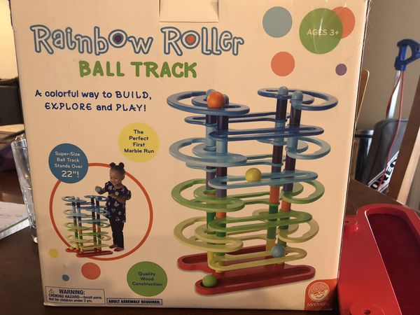 Rainbow ball Track