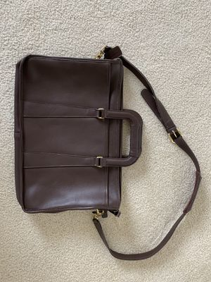 Coach brown leather messenger bag for Sale in Issaquah, WA