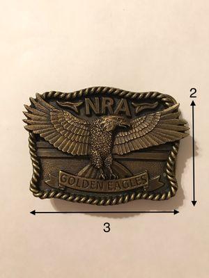 Bronze NRA belt buckle for Sale in Woodbridge, VA