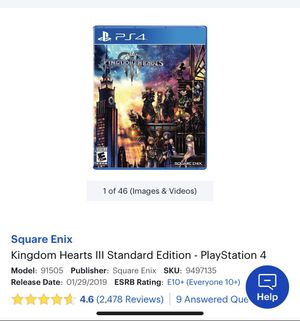 Kingdom Hearts PS4 for Sale in St. Louis, MO