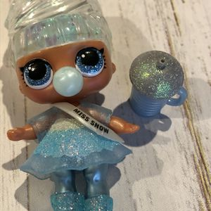 LOL Surprise Doll MISS SNOW BABY Big Sister Winter Disco Glitter Babe for Sale in Amherst, OH
