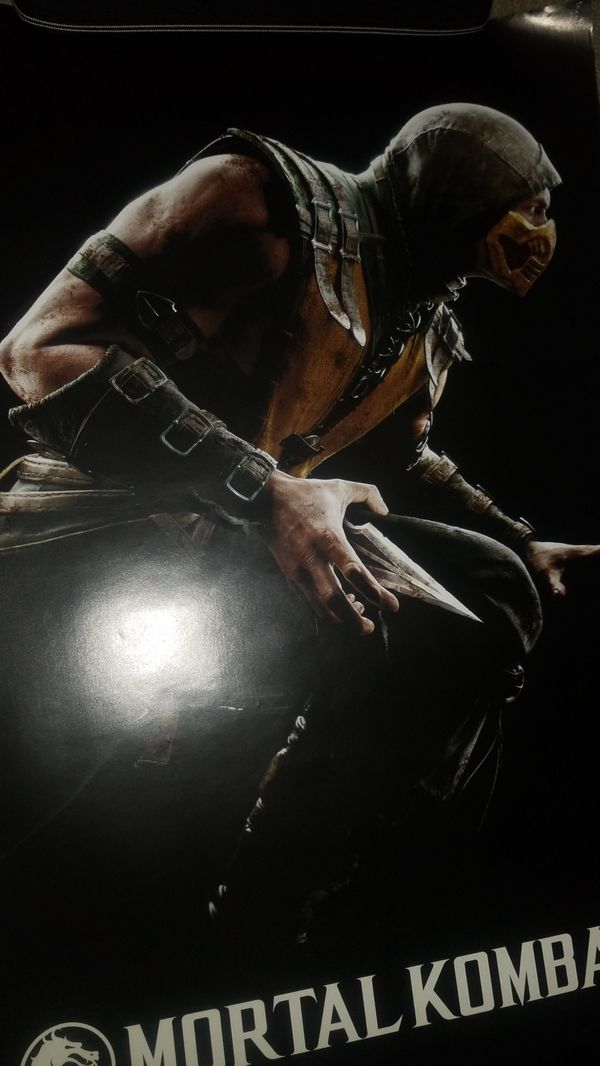 Scorpion Mkx Poster For Sale In San Antonio Tx Offerup