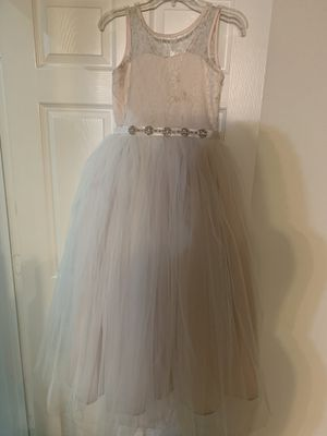 Flower girl dress size 12 for Sale in Fort Lauderdale, FL