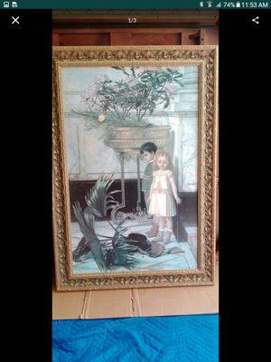 Verhas- broken flower pot. Framed painting. Cedar Creek Collections for Sale in North Miami Beach, FL