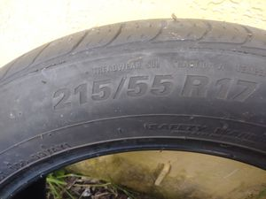 215/55 R17. Kumho. 70% left for Sale in Miami, FL