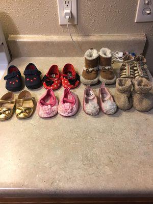 Kids girl shoes / zapatos de niña. for Sale in Fullerton, CA