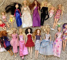 18 Dolls- Barbie, Disney, Chelsea etc. for Sale in Thousand Oaks,  CA