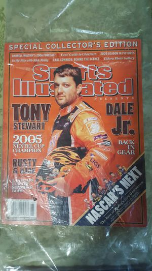 Sports illustrated special collector's edition NASCAR issued December of 2005 for Sale in Poland, IN