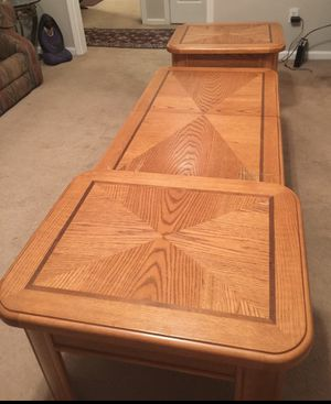 Coffee table and end tables for Sale in Jonesboro, AR