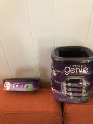 Litter genie refill set pack of five for Sale in Richmond, VA