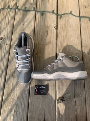 Jordan 11 low cool grey for Sale in Wichita, KS