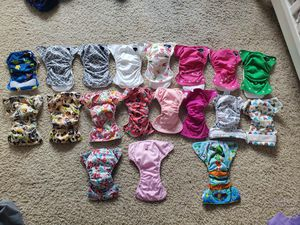 Newborn cloth diapers for Sale in Portland, OR