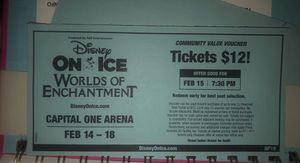 (4) FOUR DISNEY ON ICE VOUCHERS for Sale in Washington, DC