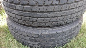 Tires 205/75/15 for trailer for Sale in Arlington, TX
